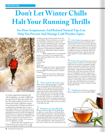 Co runner article